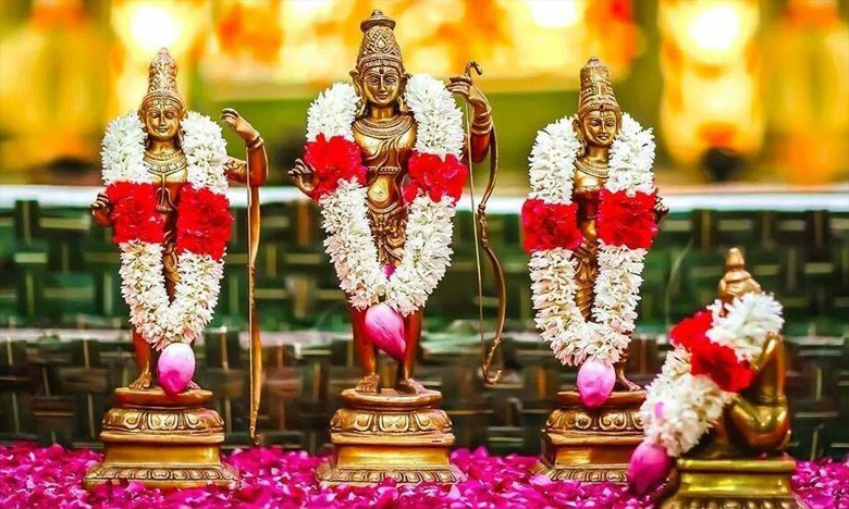 Grand Celebration of Sri Sita Rama Kalyanam in Bhadrachalam Tomorrow, రేపు భద్రాద్రిలో వైభవంగా సీతారాముల కళ్యాణం