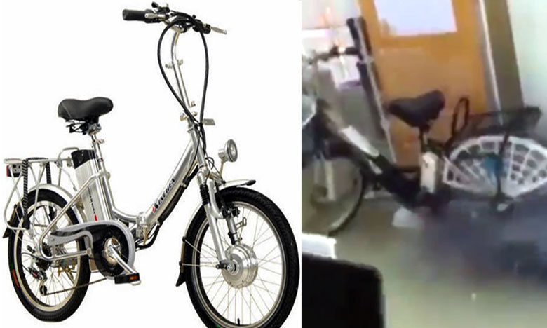 """Electric scooter explodes while charging In China, """"1000వాలా"""" టపాకాయలా పేలిన ఈ-బైక్.. 5 గురు మృతి"""
