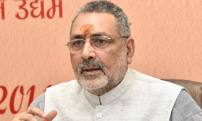 Entire Opposition in political ICU after exit polls Says Cabinet Minister Giriraj Singh, ప్రతిపక్షాలన్నీ ఐసీయూలో చేరాయన్న కేంద్రమంత్రి