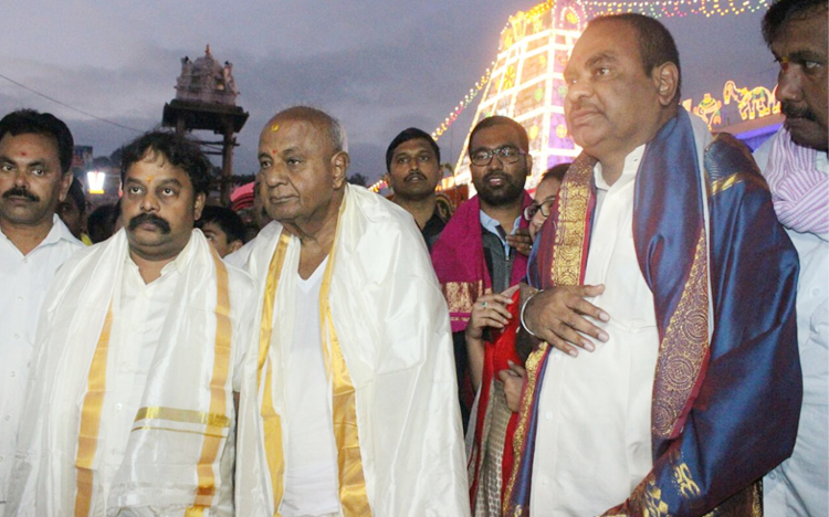 Deve Gowda, ఏదెలా ఉన్నా.. నేను కాంగ్రెస్కే మద్దతిస్తా..!