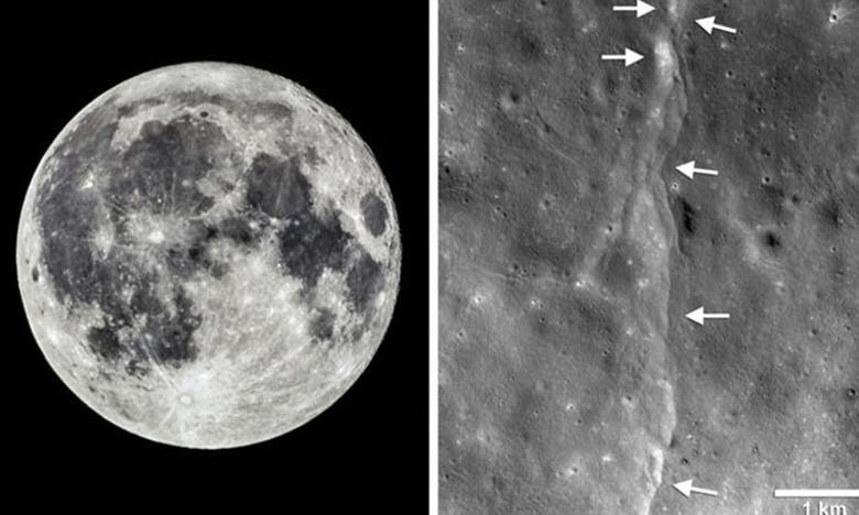 The Moon Is Shrinking, Wrinkling, జాబిలమ్మపై ప్రకంపనలు, ఏం జరిగింది?