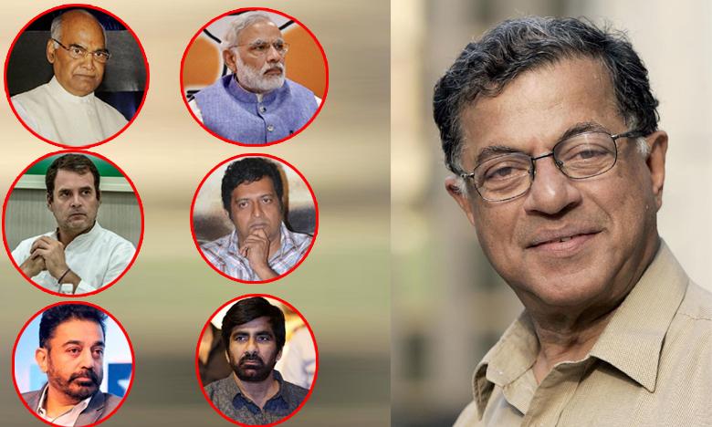 Celebrities condolences to Girish Karnad, మీ మరణం తీరని లోటు: గిరీష్ మృతిపై సెలబ్రిటీల ట్వీట్లు