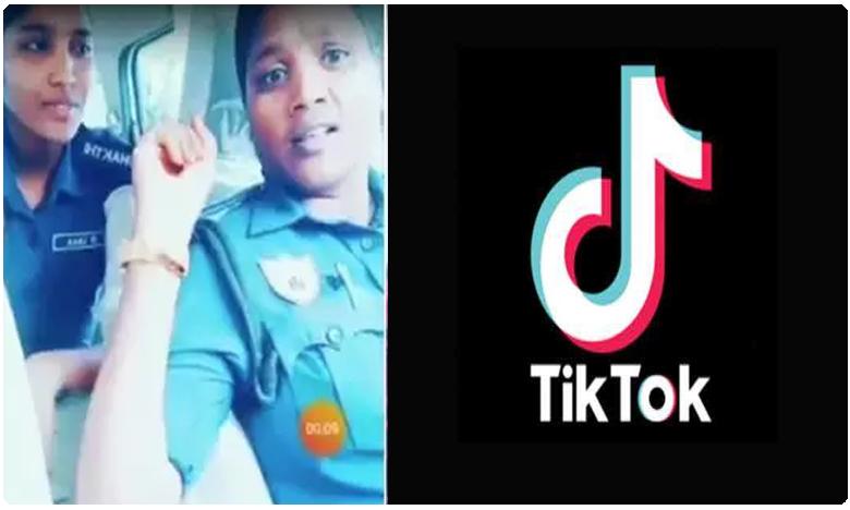 Vizag Shakti Team tiktok Video During Duty Hours, టిక్ టాక్ మోజులో మహిళా ఖాకీలు.. ఇదేం పనంటూ నెటిజన్లు ఫైర్..