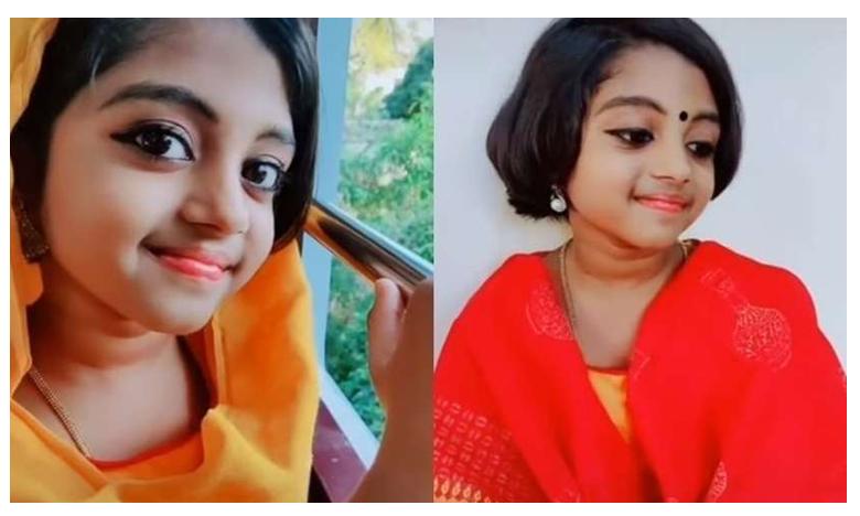 Malayalam TikTok star Aaruni Kurup dies at 9 of brain disease, ముద్దు..ముద్దు మాటల టిక్టాక్ చిన్నారి కన్నుమూసింది!