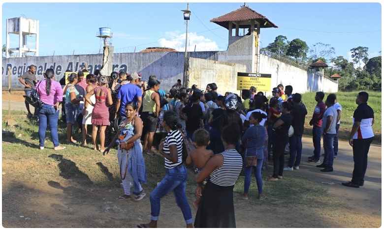 Clashes in Brazil Prison, బ్రెజిల్లో దారుణం.. జైల్లో ఘర్షణ.. 52మంది మృతి