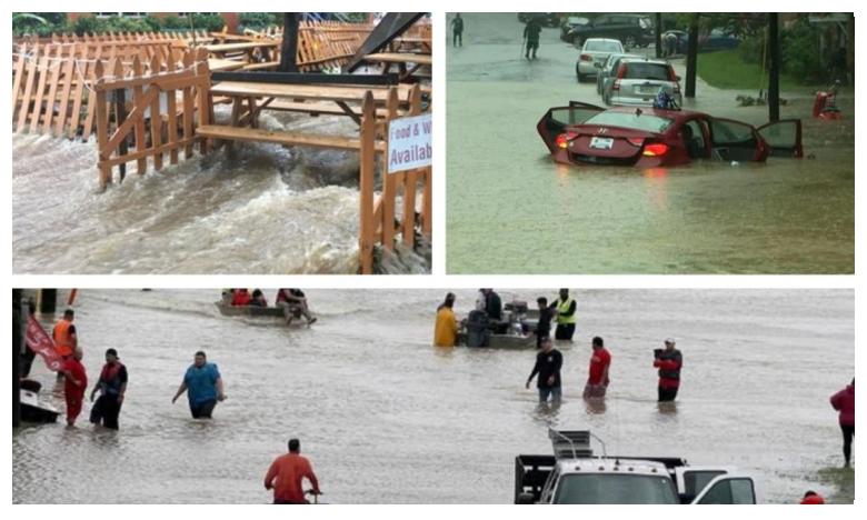 Heavy Rains in US, భారీ వర్షాలకు అతలాకుతలమవుతున్న అమెరికా