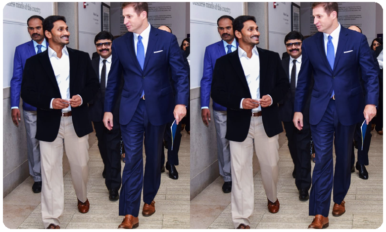 AP CM Jagan Mohan Reddy impresses with his New look in America Tour