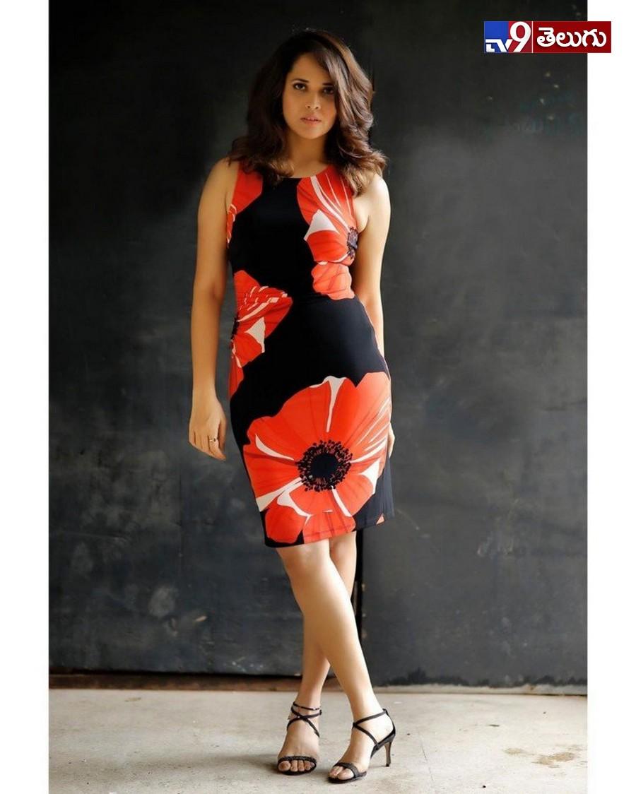Anasuya Latest photos, షూటింగ్ లో 'అనసూయ' అల్లరి