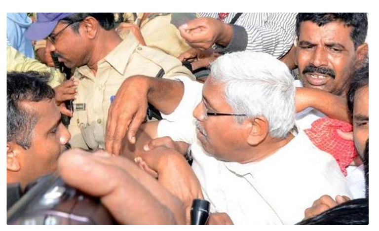 Prof Kodandaram Arrested For Objecting Uranium Mining, అచ్చంపేటలో కోదండరామ్ అరెస్టు!