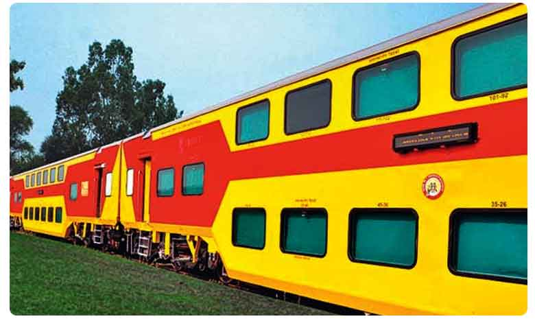 Uday Double Decker Train To Be Launched Between Visakha And Vijaywada