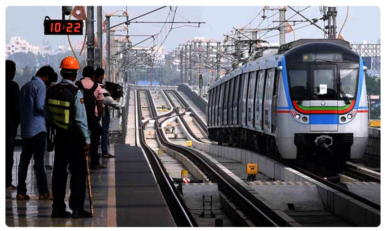 Ameerpet To Hitech Ciry Metro Train Service Per Every 4 Minutes, అమీర్ పేట్ టూ హైటెక్ సిటీ: ప్రతి 4 నిమిషాలకు ఒక మెట్రో..