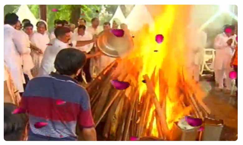 Arun Jaitley Cremation Completed