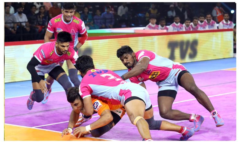 Jaipur Pink Panthers vs Puneri Paltan Match Updates