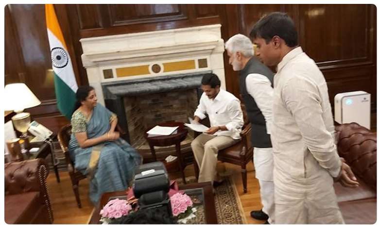AP CM YS Jagan Meets Nirmala Sitharaman, Discussing About Funds Owed to The State