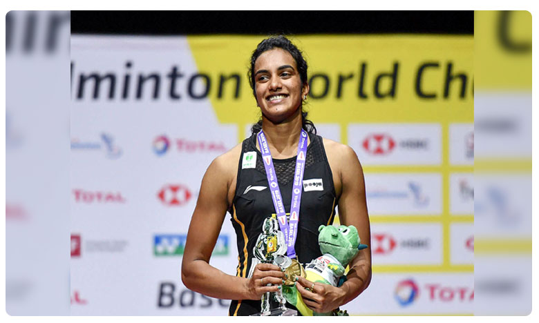 Felicitation To PV Sindhu By Telangana Governer