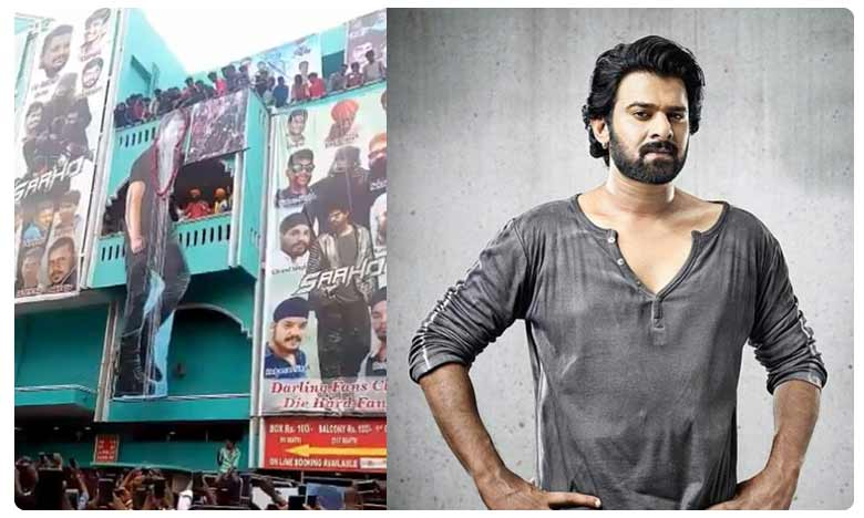 Prabhas fans celebrate the success of Saaho