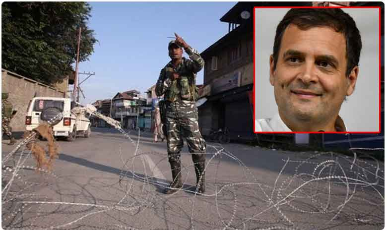 Rahul Gandhi, Other Opposition Leaders To Visit Jammu And Kashmir