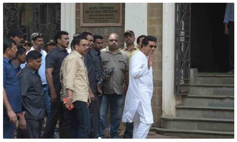 "Raj Thackeray Appear Enforcement Directorate, తెరపైకి ""కోహినూర్"" భూముల వ్యవహారం.. ఈడీ ఎదుట రాజ్ ఠాక్రే"