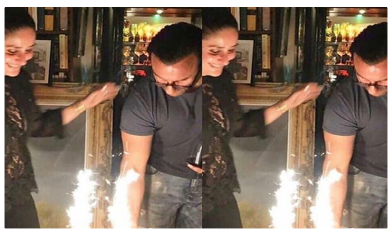 Inside Saif Ali Khan's Birthday Celebrations With Kareena Kapoor And Taimur In London