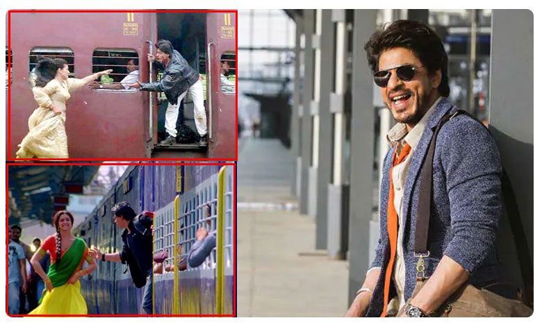 Shah Rukh Khan inaugurated a new postal cover at the Bandra Railway Station in Mumbai, రైల్వే స్టేషన్లో చాలా మందిని ప్రేమించా : షారుక్ ఖాన్