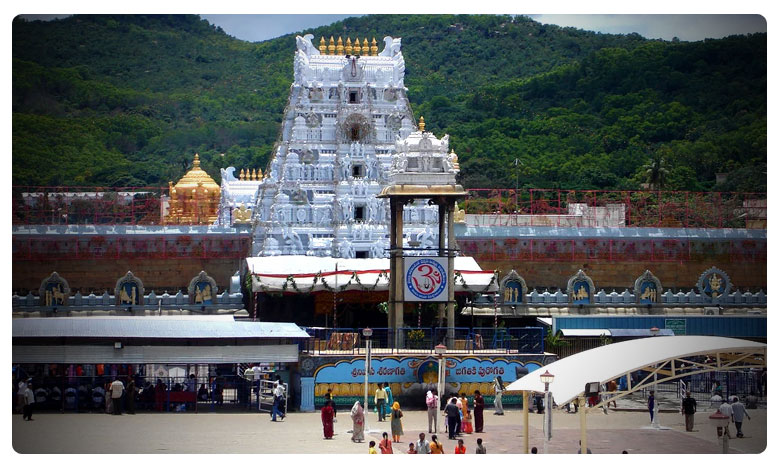 Devotees Rush is normal at Tirupati Tirumala Temple