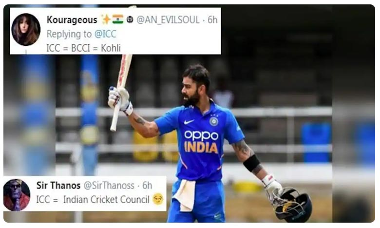 ICC Trolled For Endorsing Virat Kohli as Their New Cover Pic After Record-Breaking 42nd ODI Century vs Windies