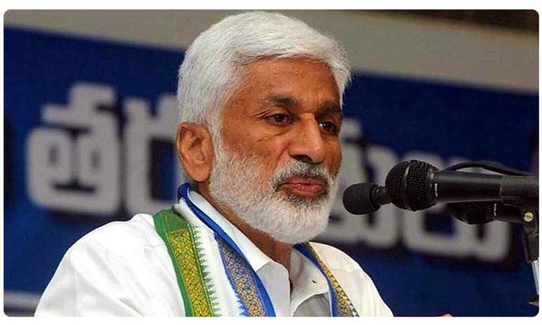 YCP MP Vijaya Sai Reddy Sensational Tweet on Chandrababu
