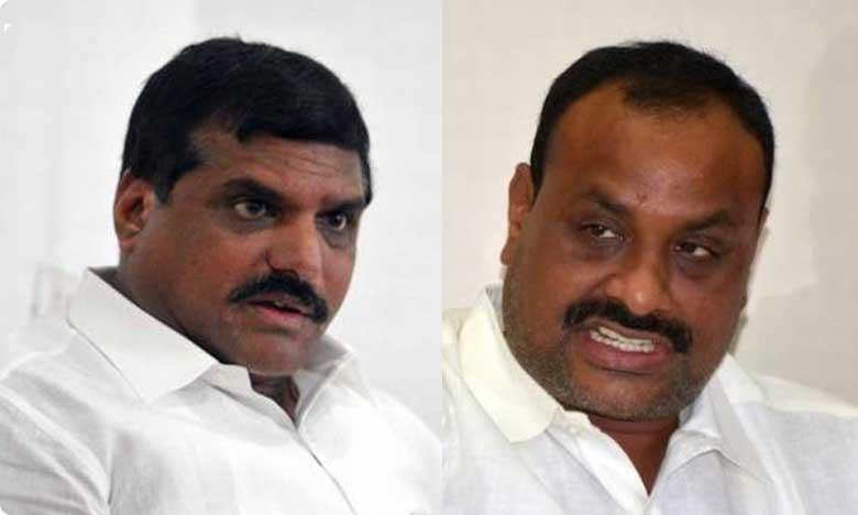 AP Former minister Acchennaidu hot comments on minister Botsa satyanarayana