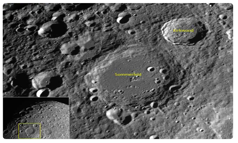 Chandrayaan 2 captures craters on moon's surface