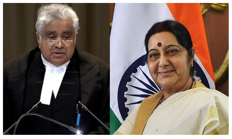 Sushma Swaraj, Harish Salve