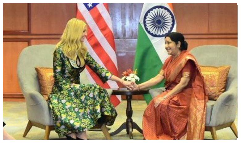 Ivanka Trump condolences Sushma Swaraj