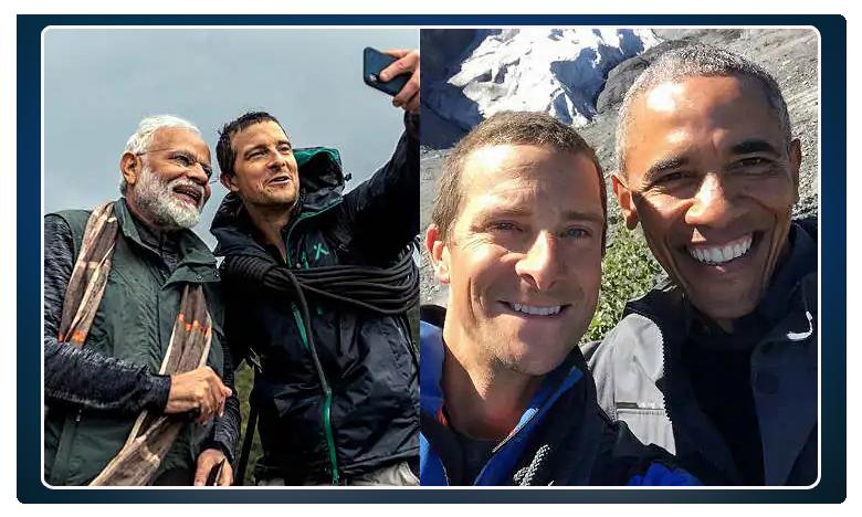 man vs wild show host on similar experiences with pm modi, barack obama