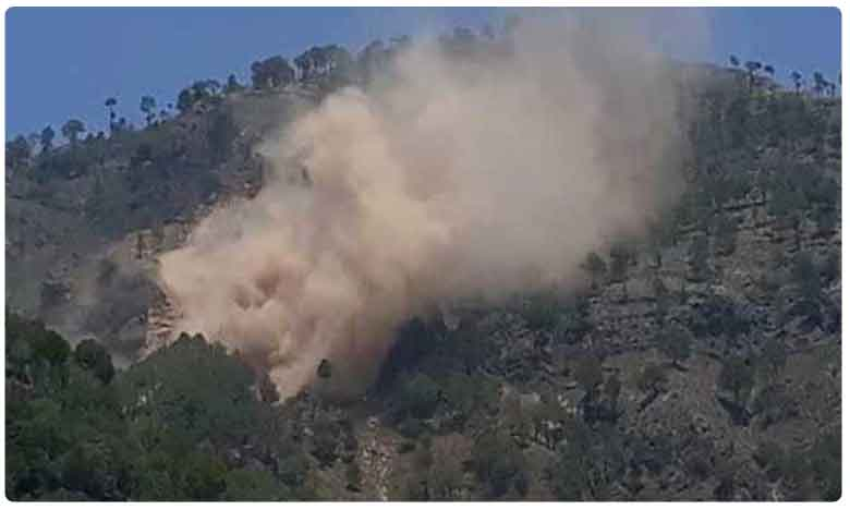 Pakistani post destroyed as Indian Army retaliates after ceasefire violation in Rajouri.. jawan martyred, ప్రతీకారం తీర్చుకున్న సైన్యం.. పాక్ సైనిక పోస్టు ధ్వంసం