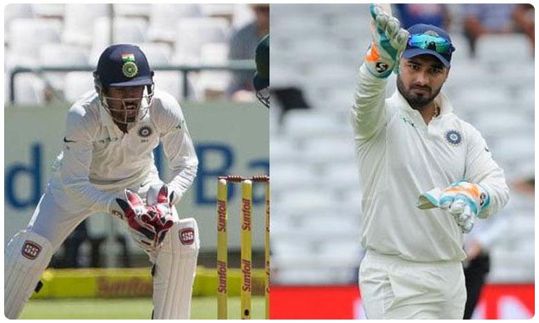 Saha Should Play 2nd Test Instead Of Rishabh Pant, Says Syed Kirmani