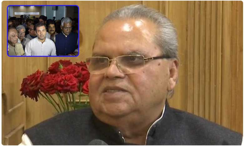 Invited Rahul Gandhi out of goodwill, he politicised the issue: J&K Governor Satya Pal Malik