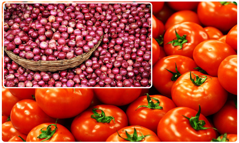 tomato prices dropped while onions rates increased