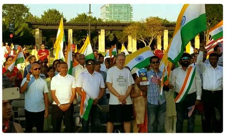 India Association of North Texas IANT celebrates 73rd Independence Day, అమెరికాలో భారత స్వాతంత్య్ర దినోత్సవ వేడుకలు