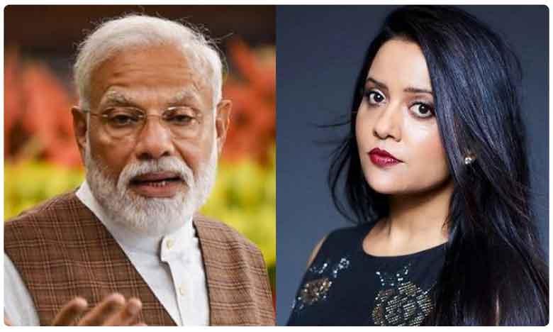 Amruta Fadnavis Calls PM Modi Father Of The Country, పీఎంకి బర్డ్ డే విషెస్ చెప్పి.. బుక్కైన సీఎం వైఫ్..