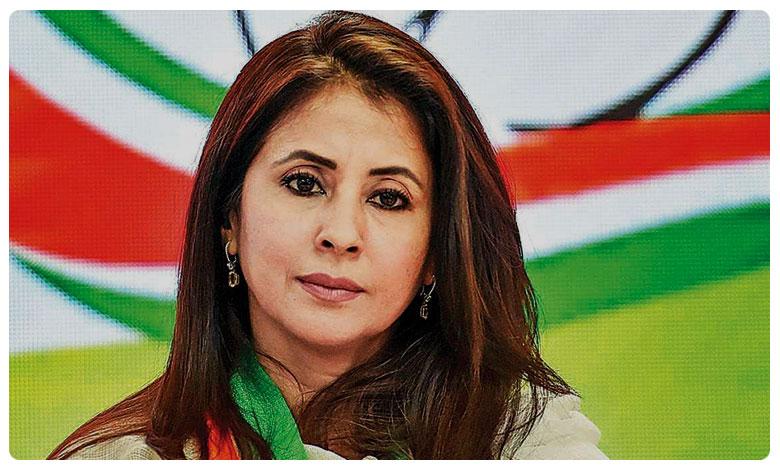 Actor Urmila Matondkar resigns from Congress after five months, అన్నీ చిల్లర రాజకీయాలే ! కాంగ్రెస్ పై ఫైర్ ! ఊర్మిళ గుడ్ బై !