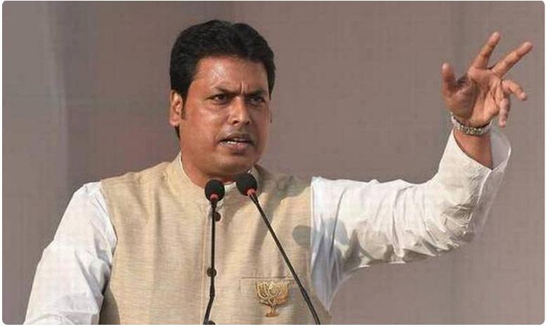 No love for Hindi is no love for India: Tripura CM Biplab Kumar Deb