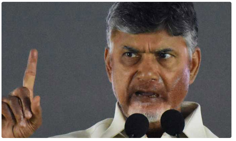 former AP CM Chandrababu fire on YCP Government