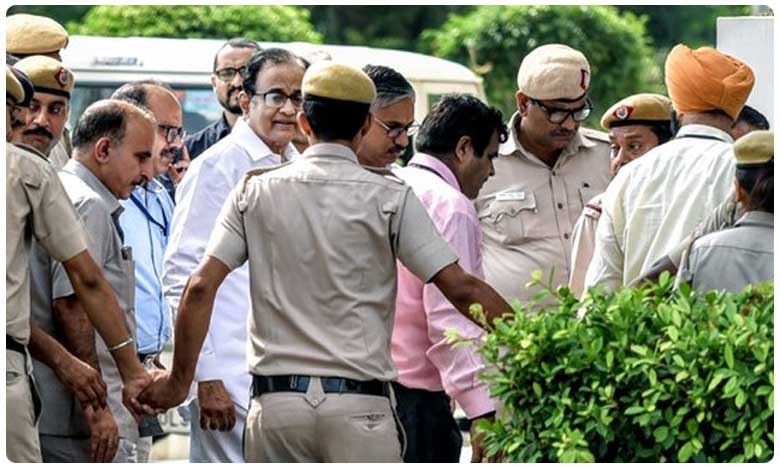 P Chidambaram Sent To Tihar Jail 14 Days Custody, తీహార్ జైలుకు చిదంబరం.. 14 రోజుల కస్టడీ!