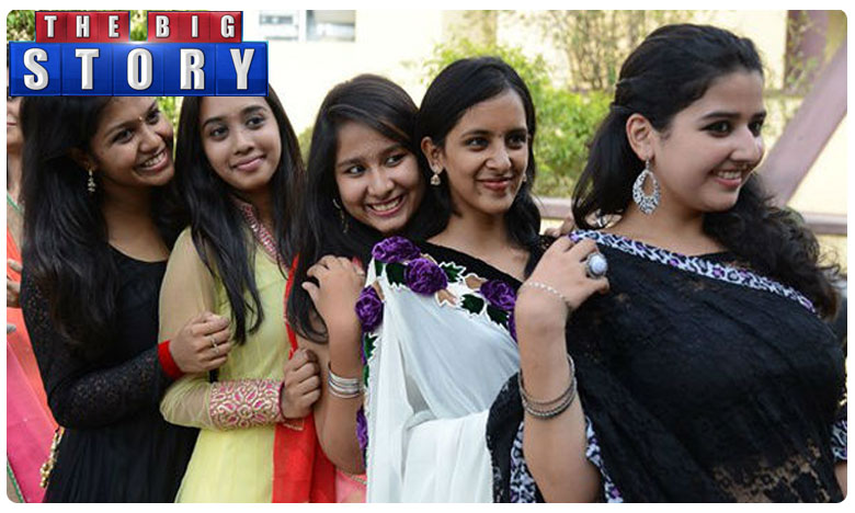 long kurtis will fetch good marriage proposals, girls college in hyd. bans