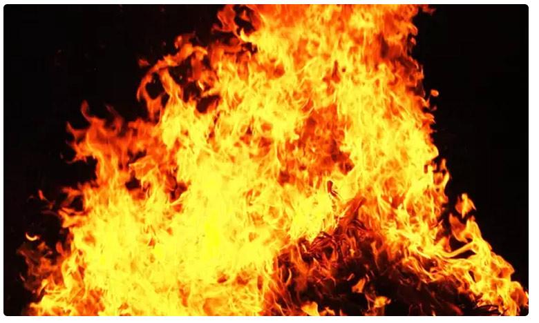 Man burned alive with superstition at Dumbriguda visakha district