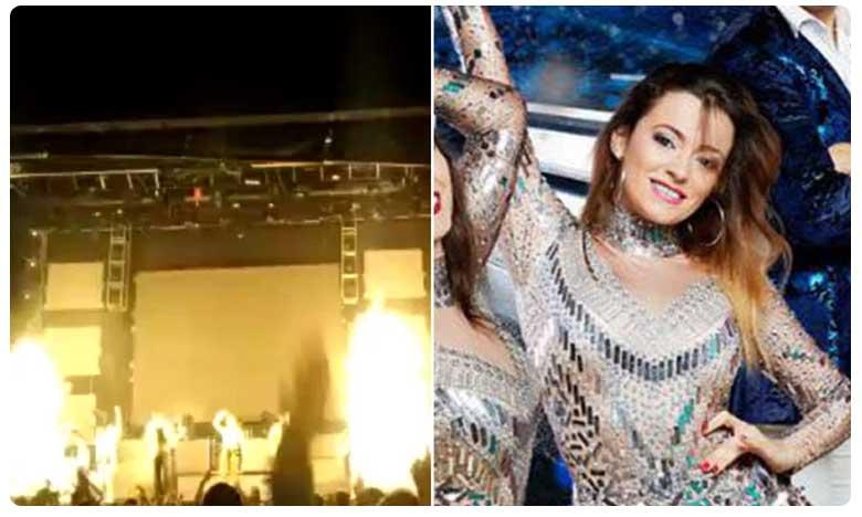 Spanish pop star Joana Sainz Garcia killed by exploding firework on stage
