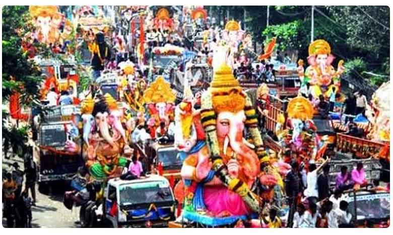 security tightened and Traffic restrictions to Ganesh immersion in Hyderabad, గణేష్ నిమజ్జనం రోజున ట్రాఫిక్ ఆంక్షలు