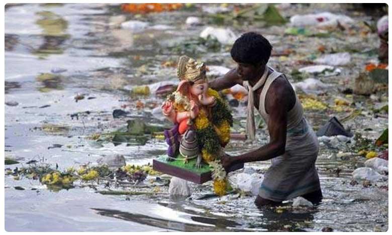 say no to plaster of paris ganesh idols thermocol palastic decorations, భక్తితో పూజించండి.. కానీ ప్రకృతిని పాడుచేయకండి..