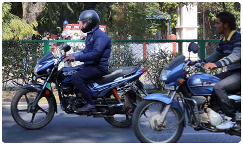 Traffic Police Bumper Offer No Checking If There Is Helmet