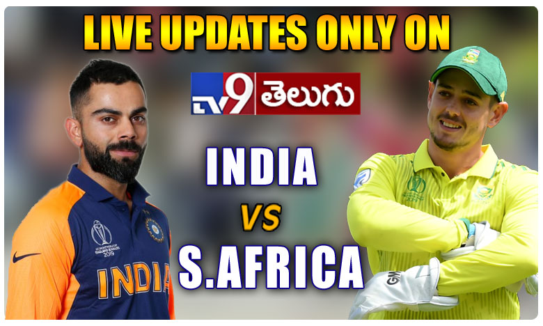 India Vs South Africa 2nd T20 Match Live Updates