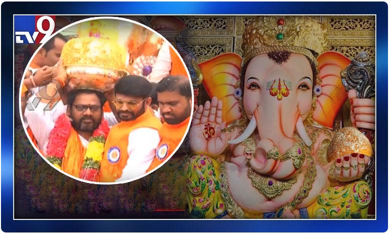 Balapur Ganesh Laddu Breaks Record, మరోసారి రికార్డులను బ్రేక్ చేసిన బాలాపూర్ లడ్డు